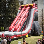 Inflatable slide - slidezilla